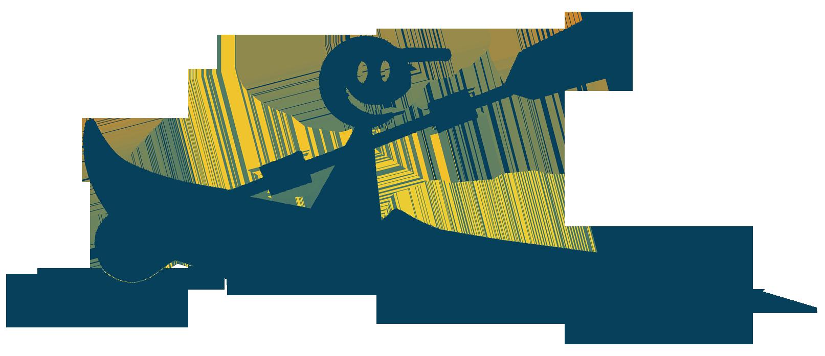 kayak miniature