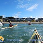Entrainement sportif aller retour Pornichet Batz sur mer, le 30 septembre