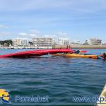 Séance sécurité dans le port d'échouage de Pornichet