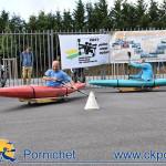 Brevet CKPCA, le kayak à roulette, lors du Forum des asso en septembre