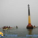 En novembre on s'entraine à la navigation dans le brouillard
