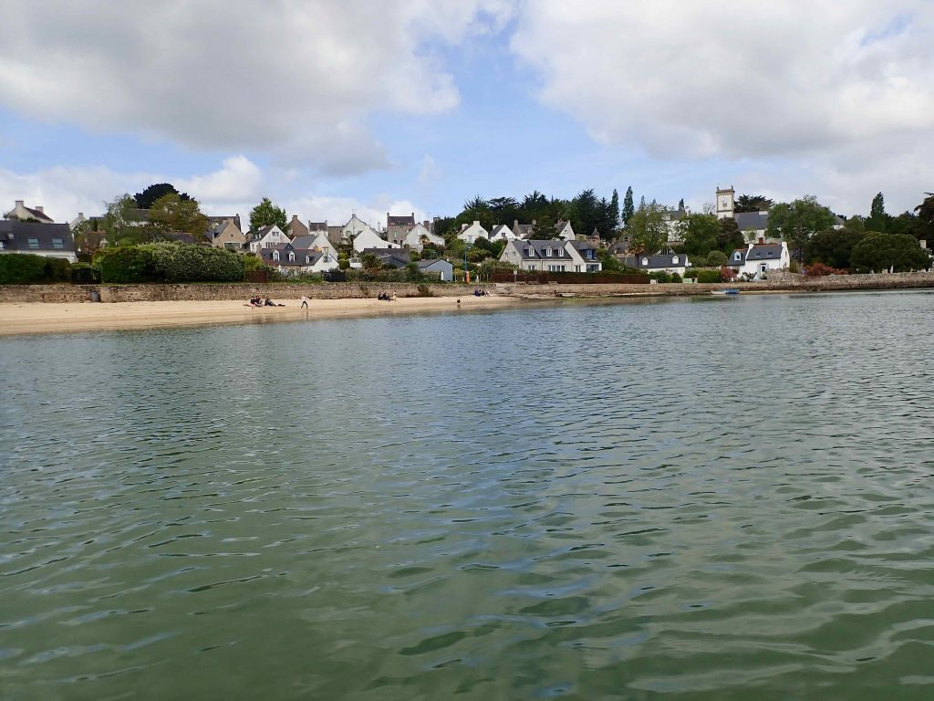 Port Miquel vue de la mer